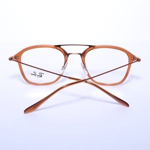 ed37b78e38a Ray-Ban Accessories - RAY BAN RB 7098 5634 Brown Bronze Squared 50